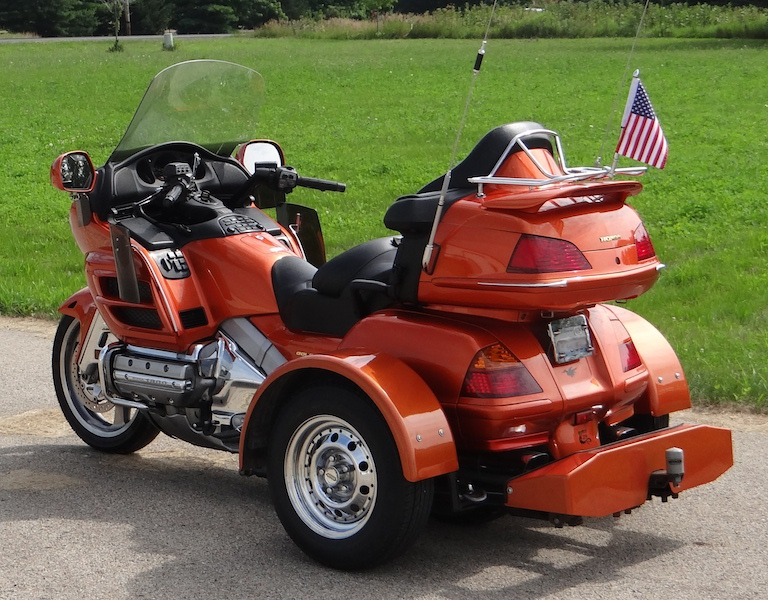 Voyager Trike Conversion Kit for Honda Goldwing 1800