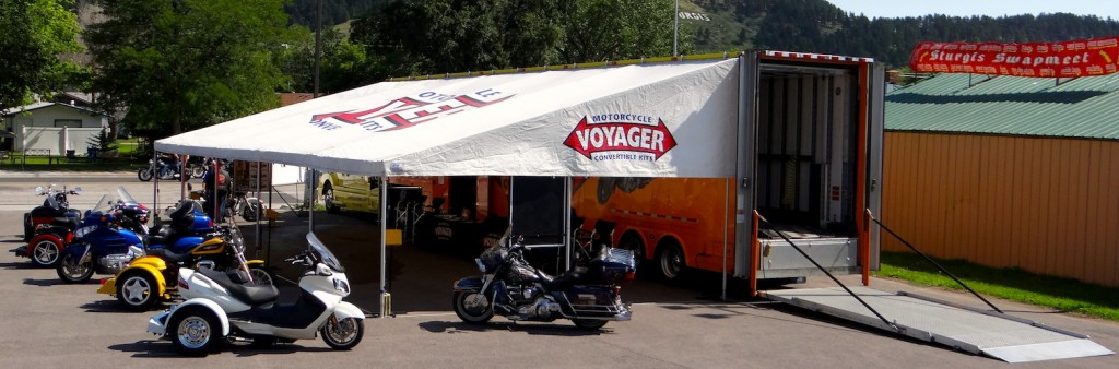 Voyager Trike Display