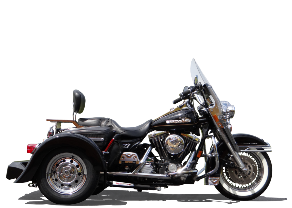 1 Harley-Davidson Road King With Trike Kit