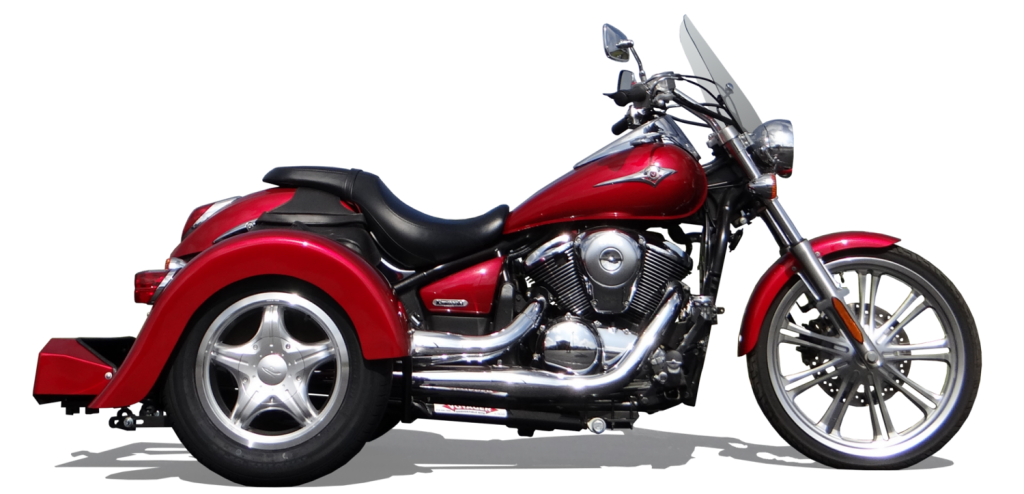1 Kawasaki Vulcan 900 With Trike Kit
