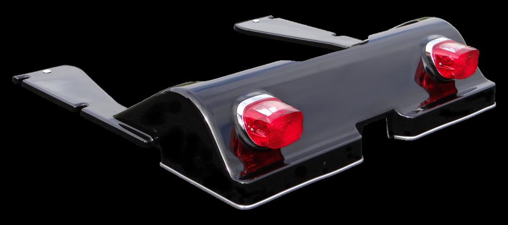 Fiberglass Rear Assembly Black