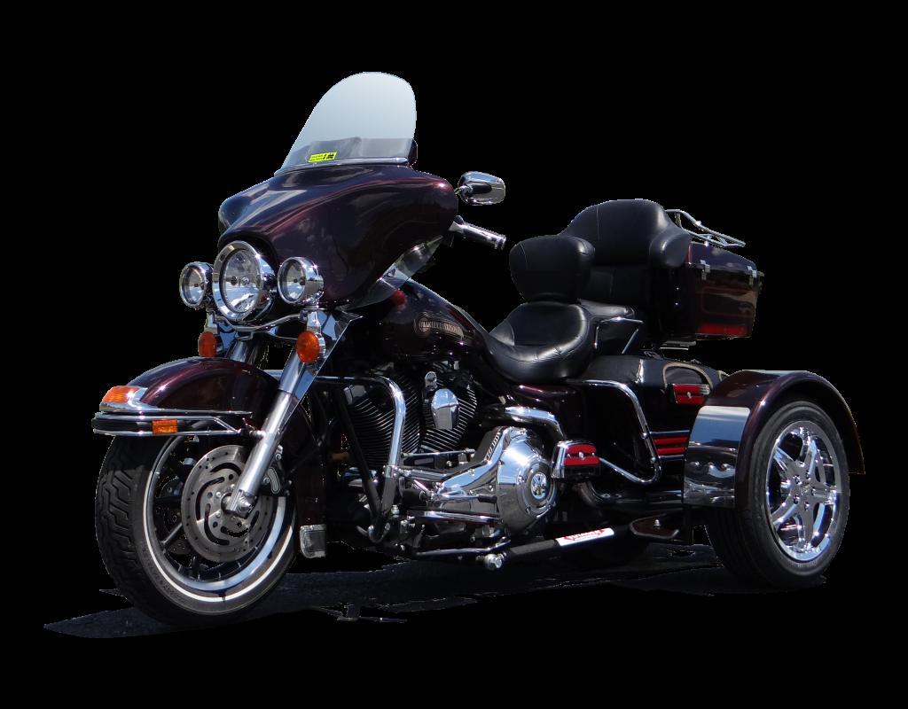 Front Angle of Standard Harley Davidson Dresser 15%22 Kool Chrome Fender Shields Shadow