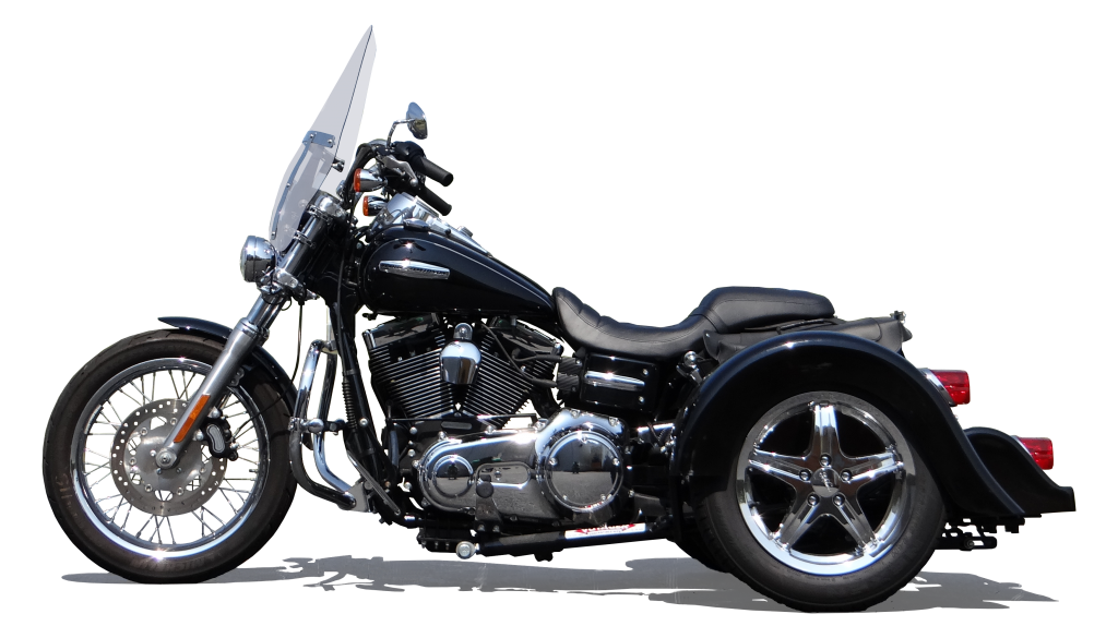 H-D Dyna Supler Glide PTM Black 15 in Chrome 1