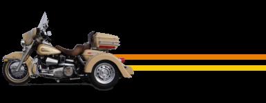 Harley Dresser Convertible Trike Kit