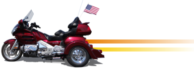 Honda Goldwing GL1800 Convertible Trike Kit