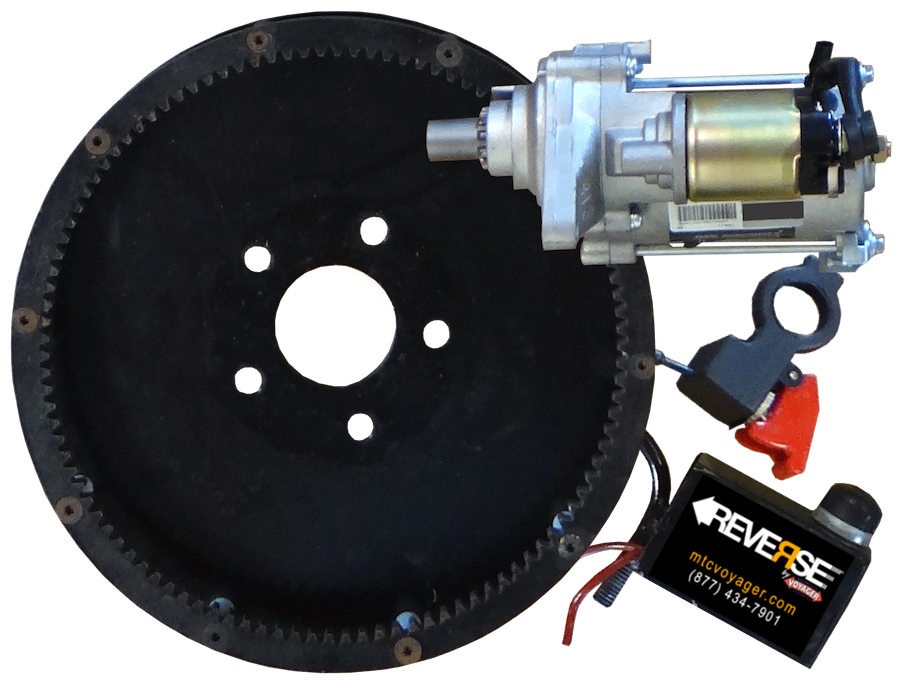 Reverse Gear & Motor & Switches w Rev Sticker