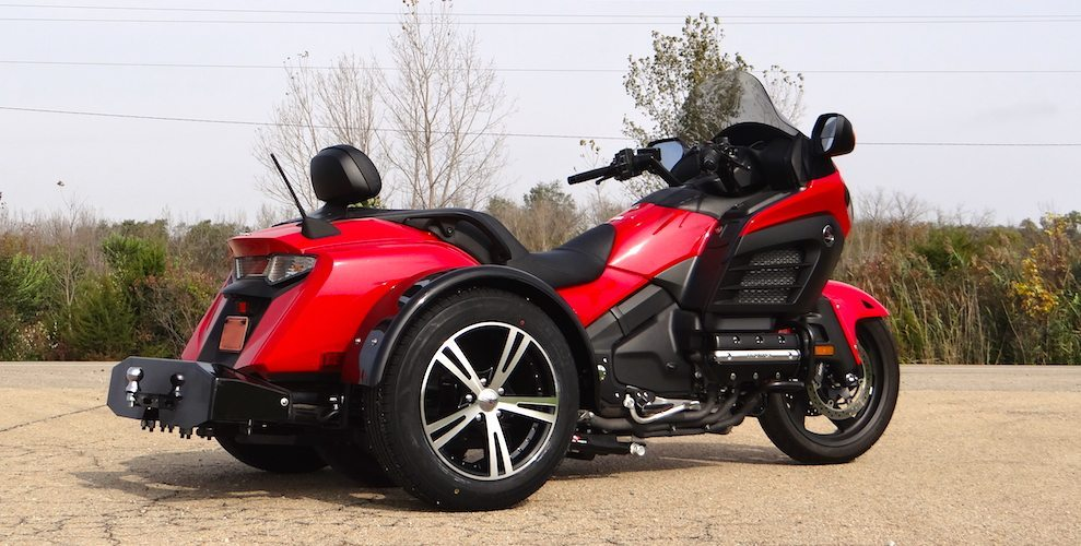 Honda F6B - Voyager Standard Motorcycle Trike Kit