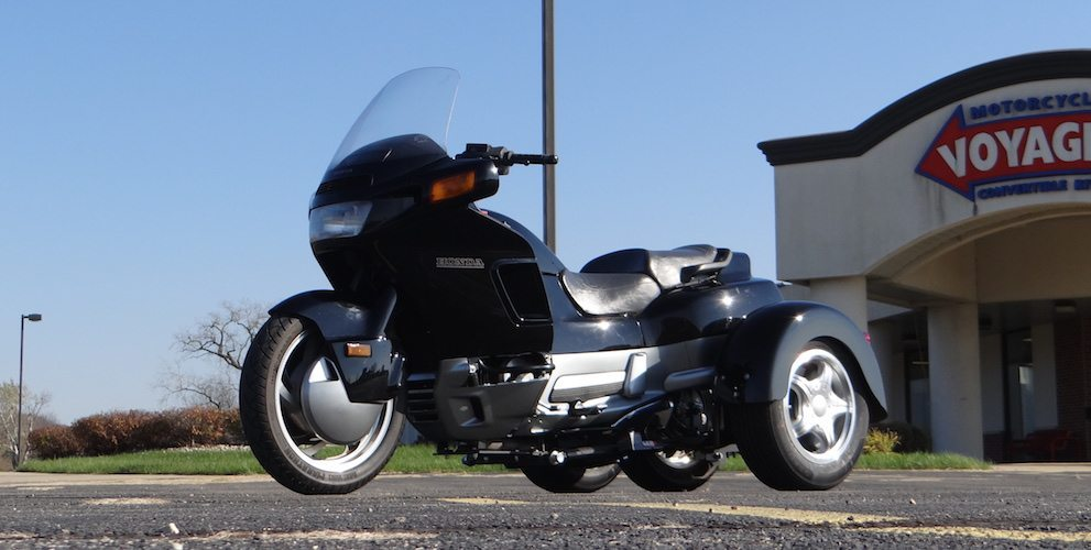 Honda Pacific Coast 800 - Voyager Custom Motorcycle Trike Kit