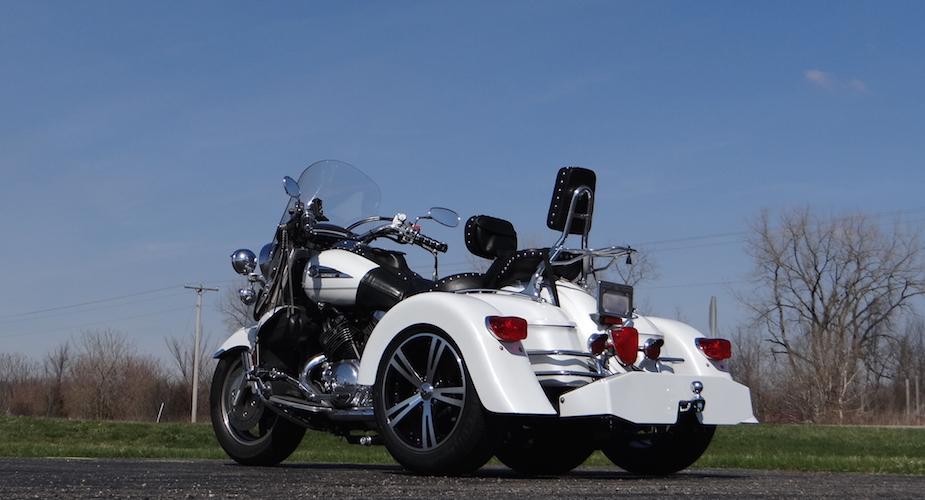 Yamaha Royal Star Tour Deluxe 1300 - Voyager Custom Trike Kit 3