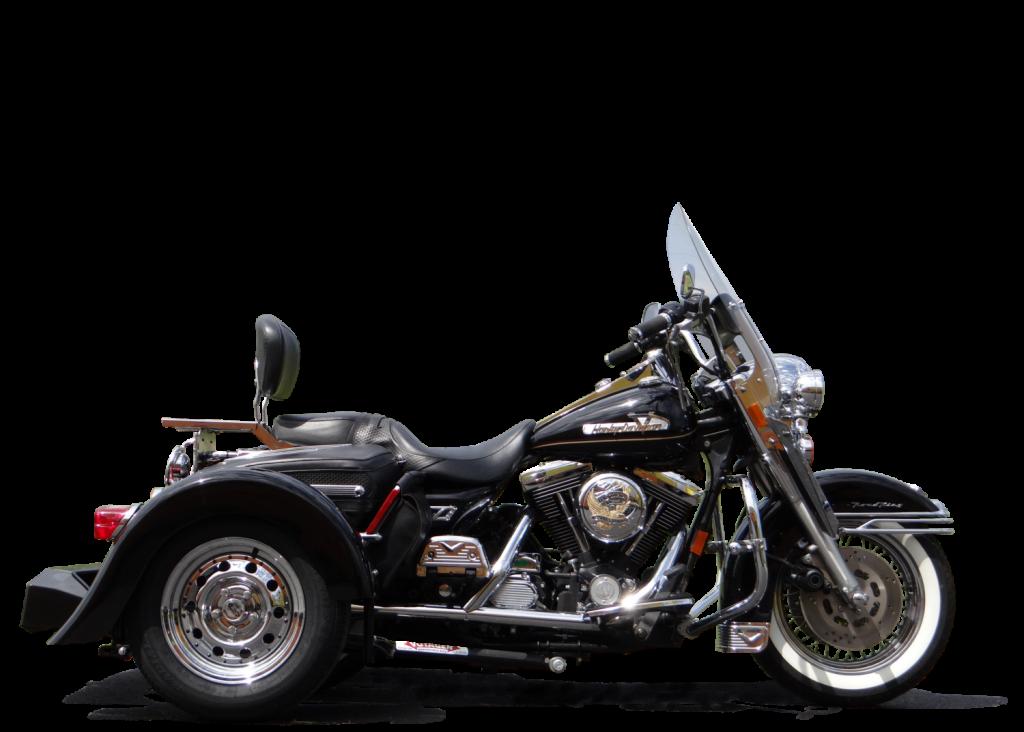 1 Harley-Davidson Road King With Trike Kit