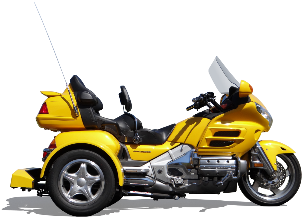 1 Honda GL1800 With Trike Kit
