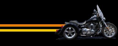 Harley Dyna Convertible Trike Kit