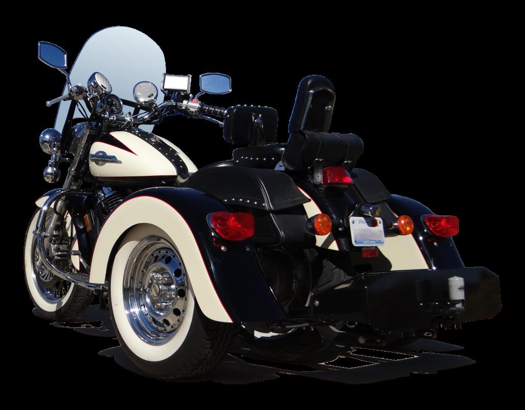Honda Shadow ACE Custom Two-Tone 13 inch wide white walls shadow