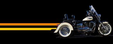 Honda Shadow Ace Convertible Trike Kit