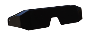 New Low Style Metal Rear Guard Black