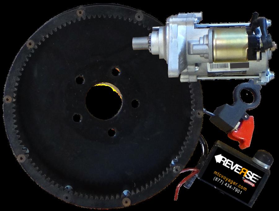 Reverse Gear & Motor & Switches w Rev Sticker